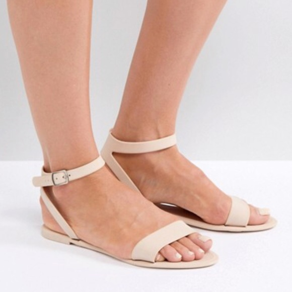 ASOS Shoes   Nude Jelly Sandals   Poshmark